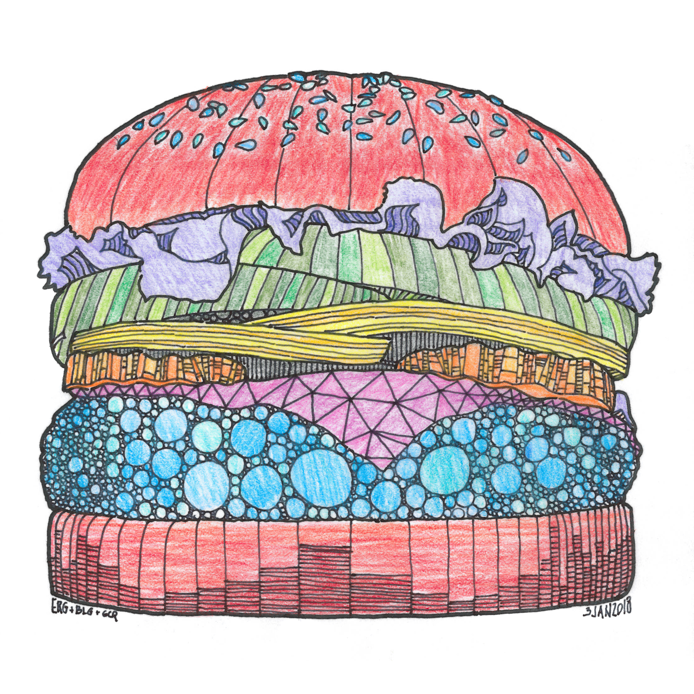 Technicolor Cheeseburger