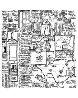 Houston Doodle