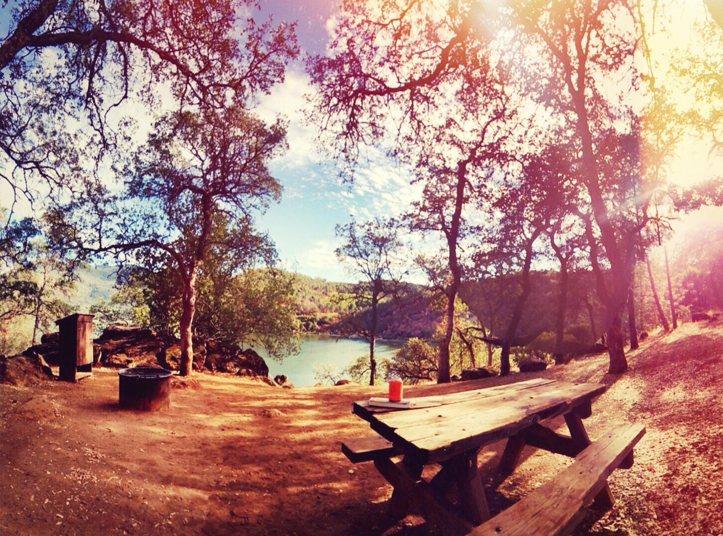 Camping at Clearlake