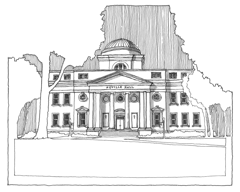 Neville Hall   Presbyterian College