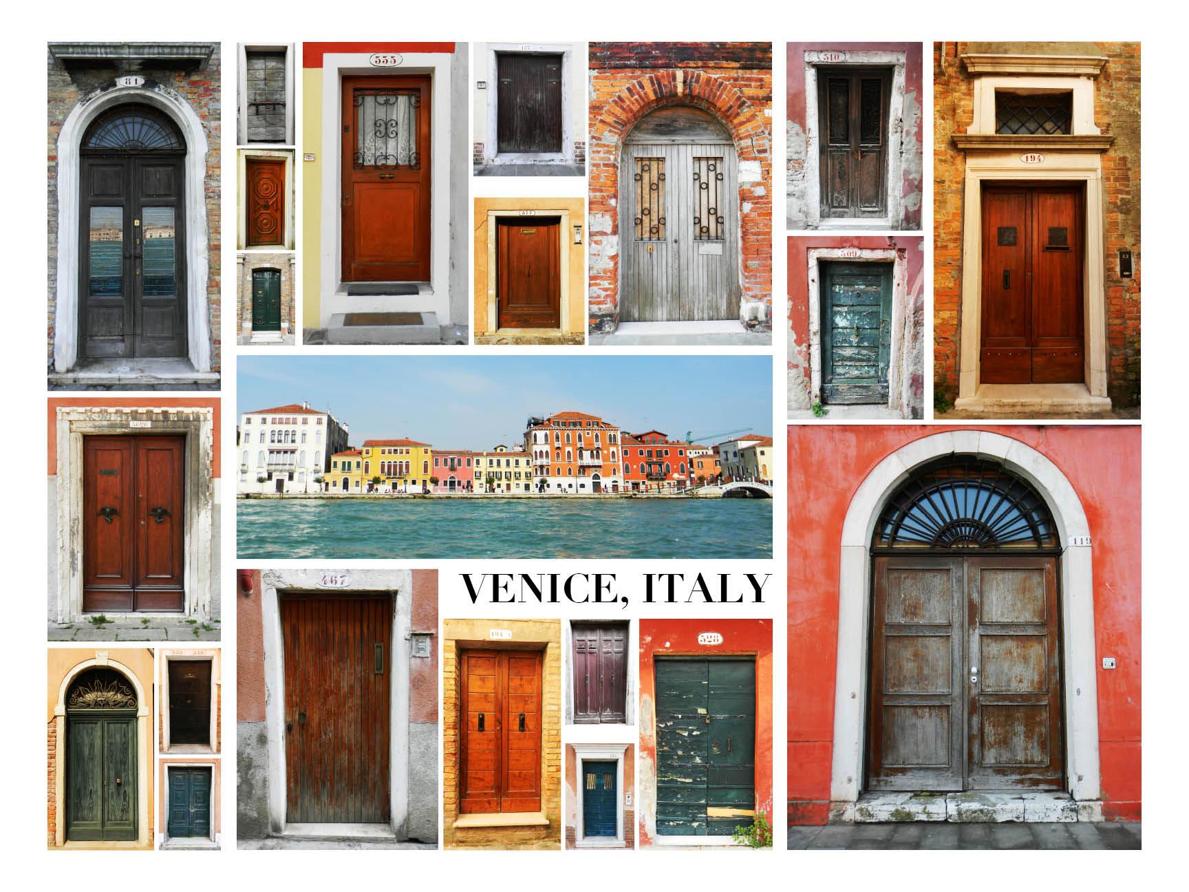 Doors of Venice Poster