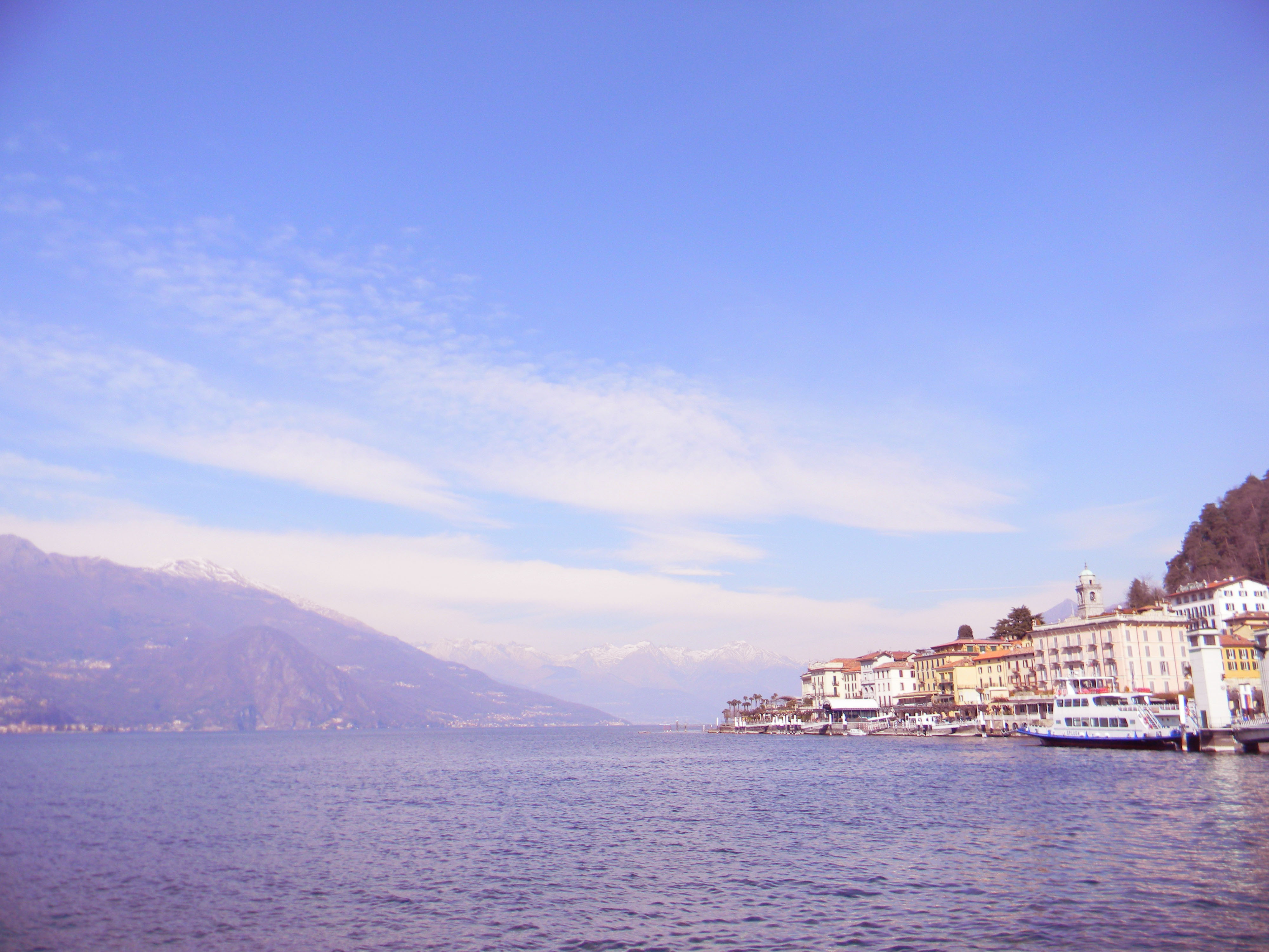 View of Bellagio from Lake Como