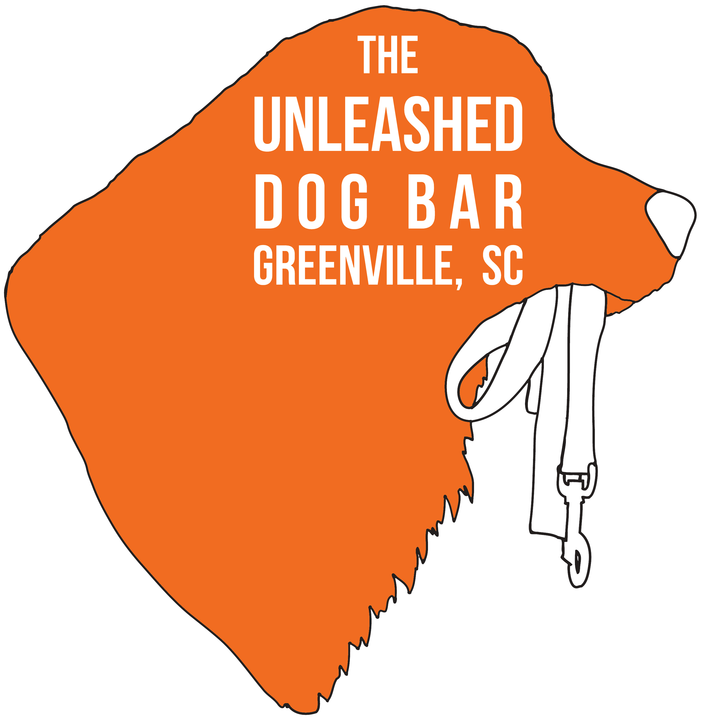 The Unleashed Dog Bar | Logo Design