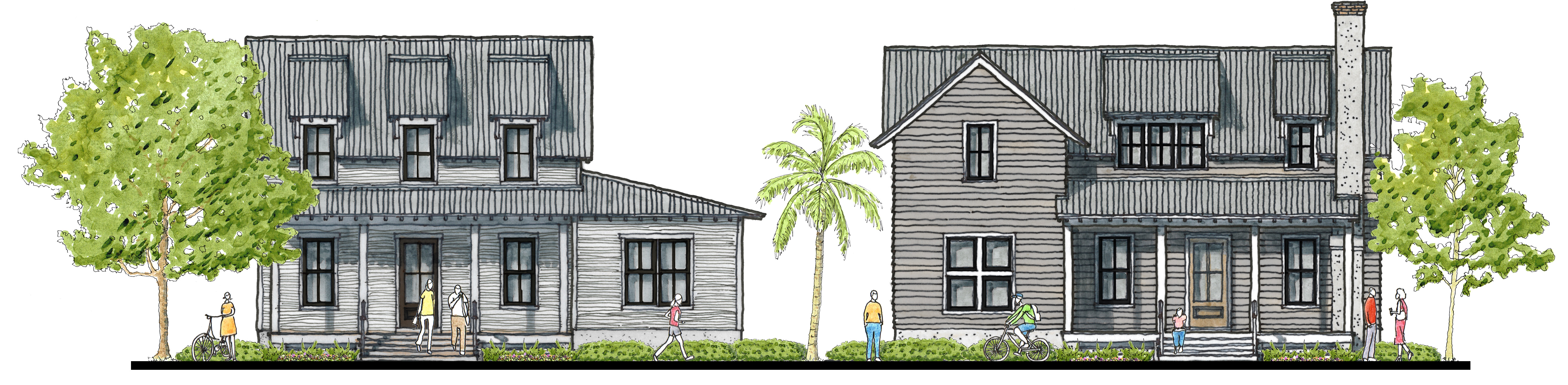 Private Cottages in Palmetto Bluff