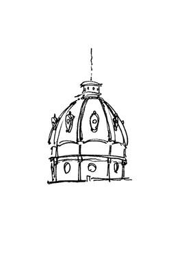 Dome at Piazza Ferrari