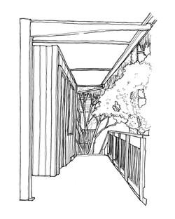 Balcony at Blackstone Manor