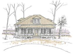Model Home in Palmetto Bluff
