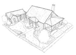 Palmetto Bluff Builder Guild Mews Model
