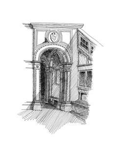 Door Detail at Palazzo Ducale