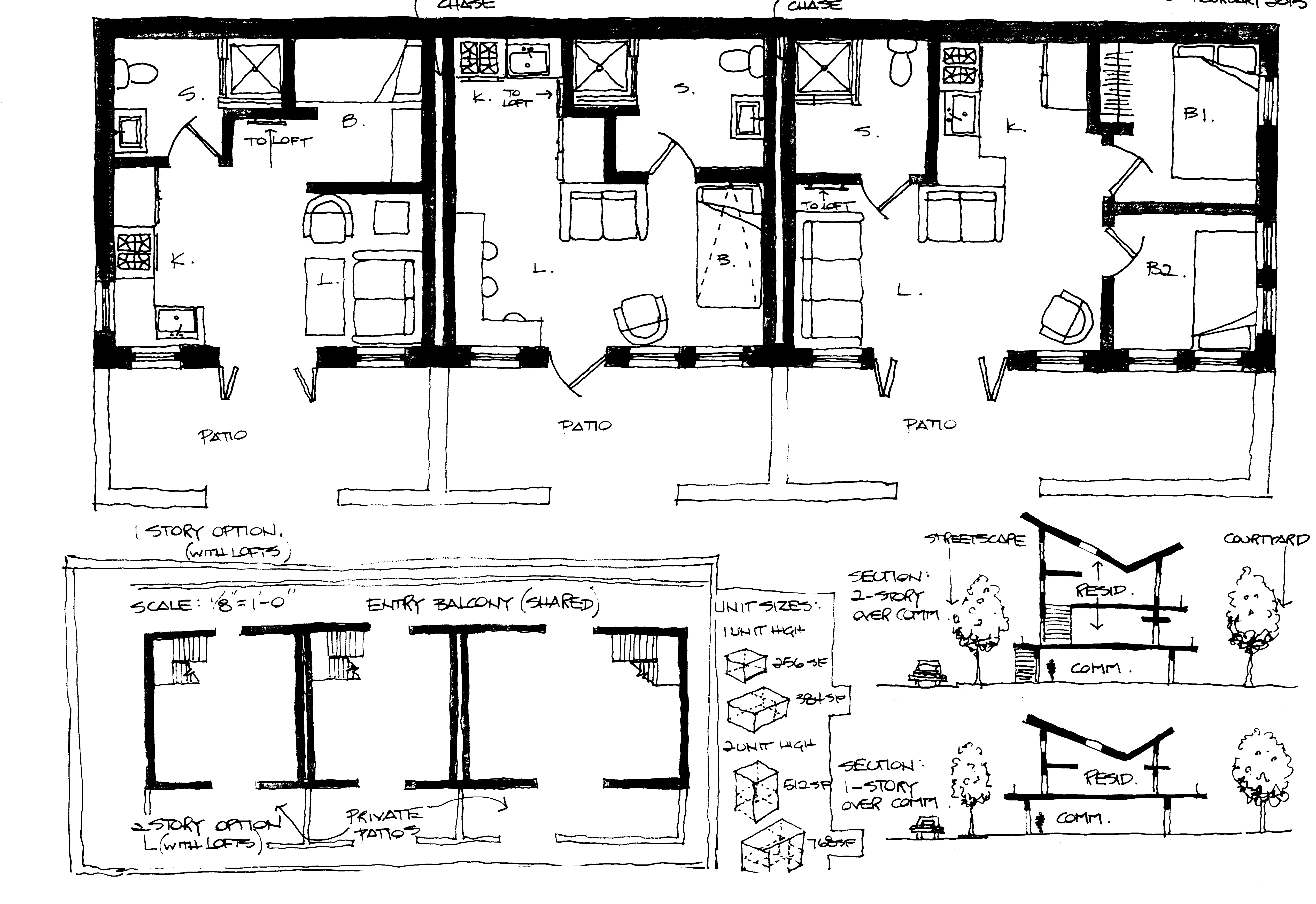 Process: Rowhouse Typology