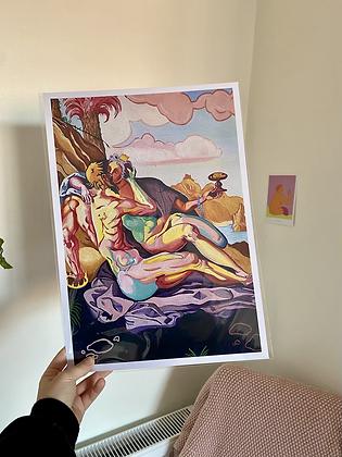 'opulentia' print