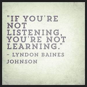 Learning to Listen, it changes the whole story.