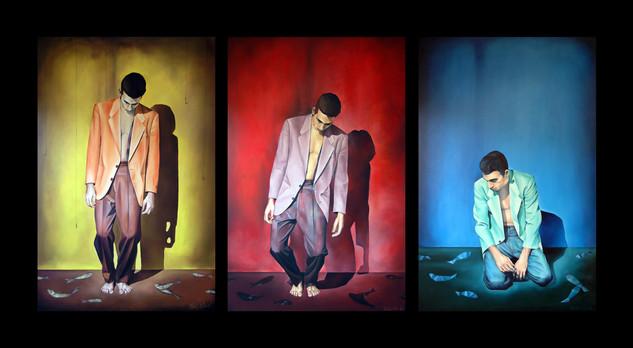 Freefall / triptych