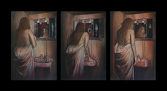 Just a second babe / triptych