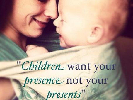 Presence in het moederschap draagt bij aan een mooiere wereld