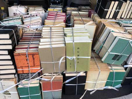 みよし市で全集や小説など本の買取をしました