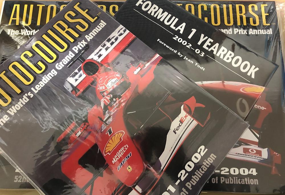 F1関連の本を買取しました