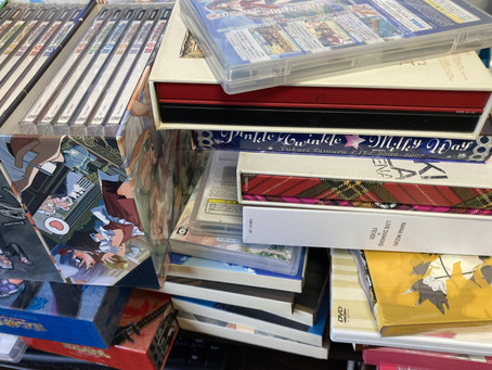 DVDやゲームソフトなどを買取しました【一宮】