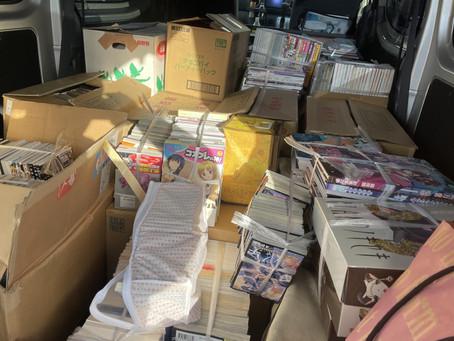 【春日井市】本とDVDなどの買取をしました