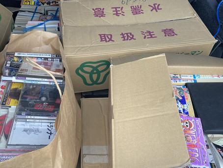 【犬山市】本とCD、ゲームの買取をしました