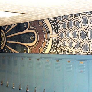 Mosaic Mural - Norwood Public School