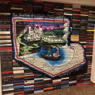 Morristown Library Book Mural