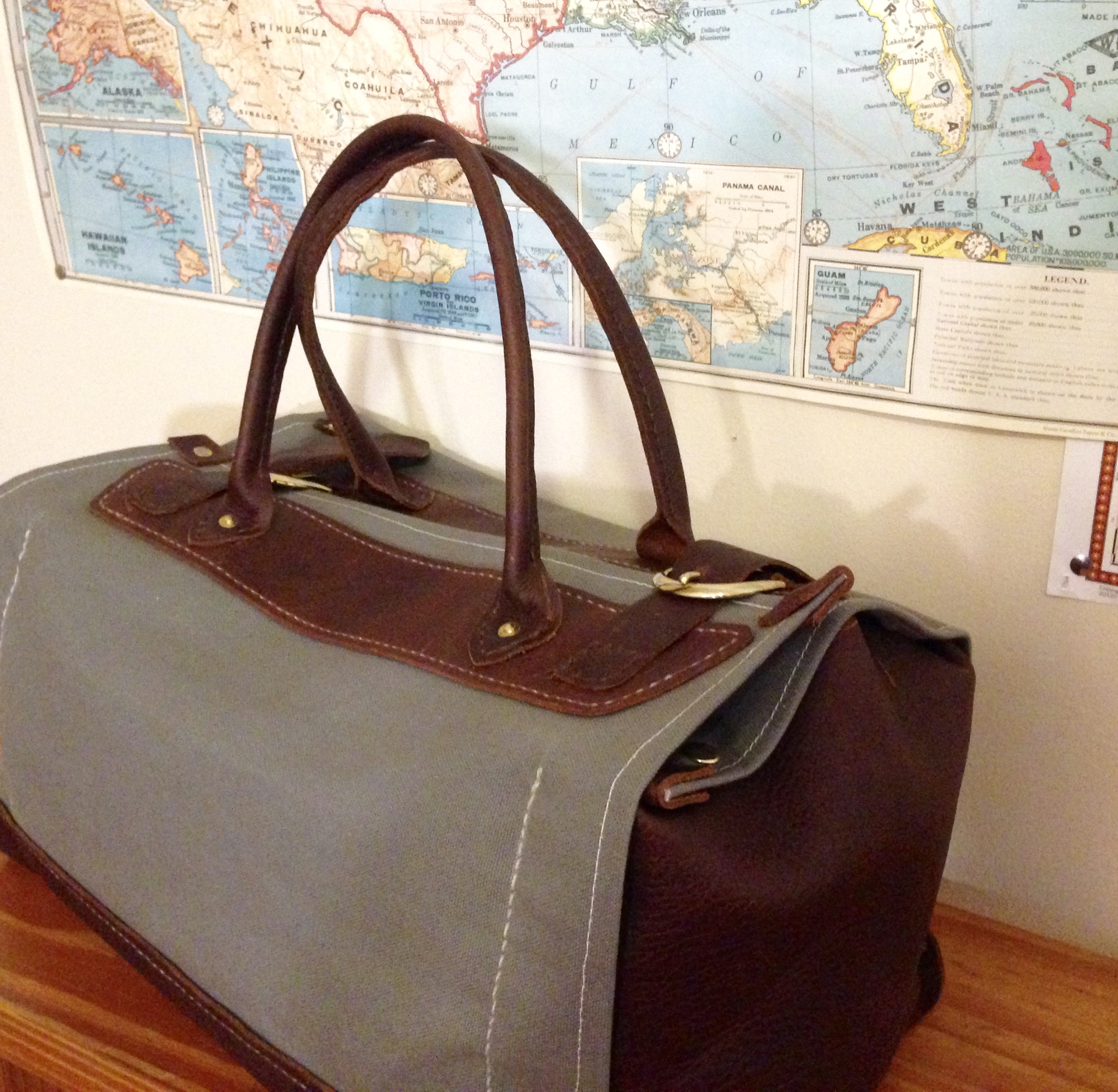 Brother John Leather Duffel