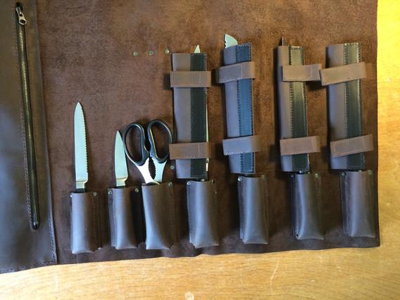 Custom Chef's Knife Roll