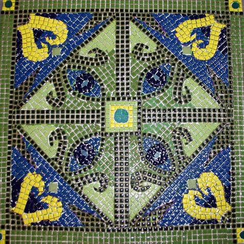 Blue/Green Tribal