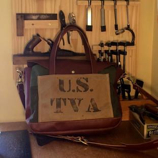 Custom TVA Messenger Bag
