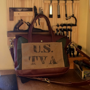 Custom TVA Messenger Bag