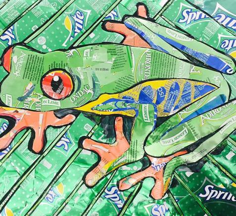 Soda Can Tree Frog