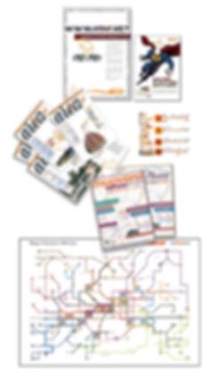 grafica per Ataf, periodici, editoria per Ataf, linee atfa, muoversi a Firenze