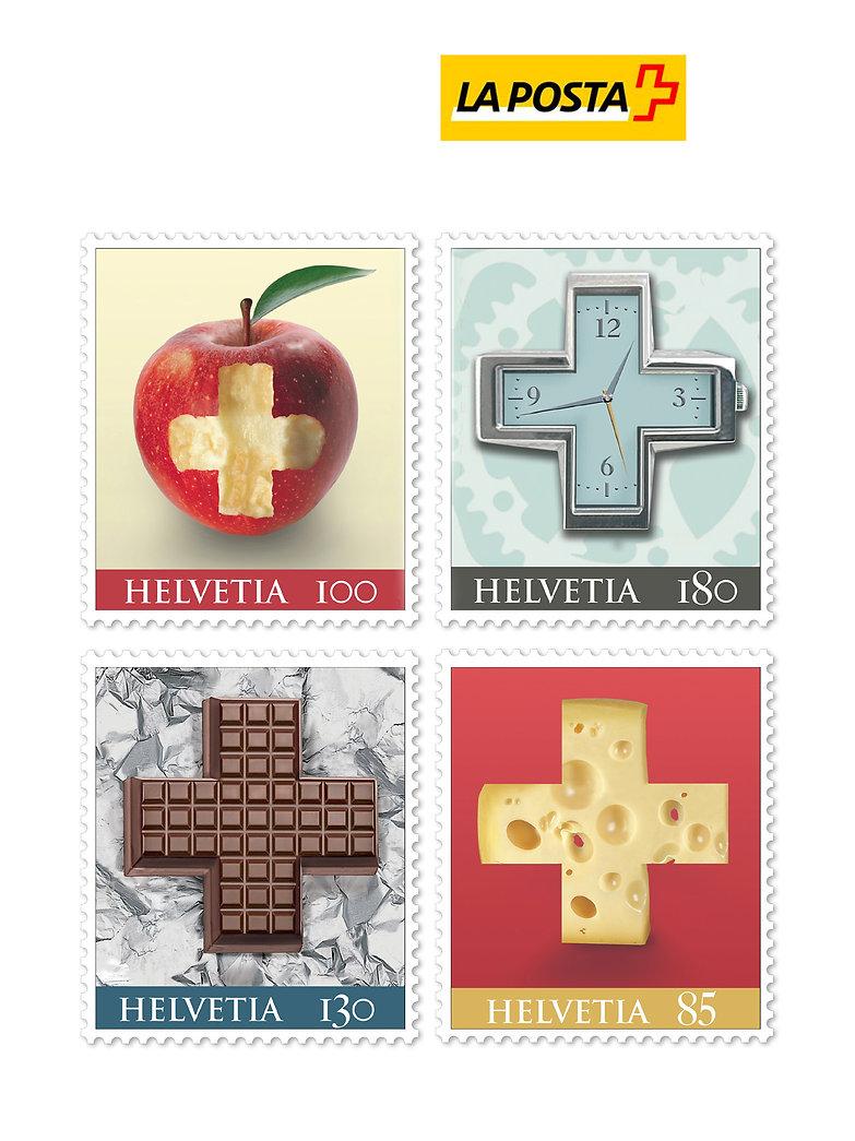 Grafica francobolli