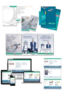 apparecchi medicali, pubblicità medicale, advertising, cataloghi di prodotto, sito web, immagine coordinata
