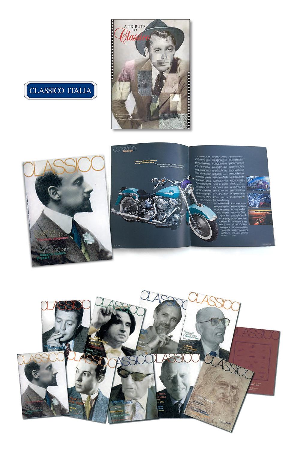 Classico Italia, Consorzio Abbigliamento Uomo, Luxury