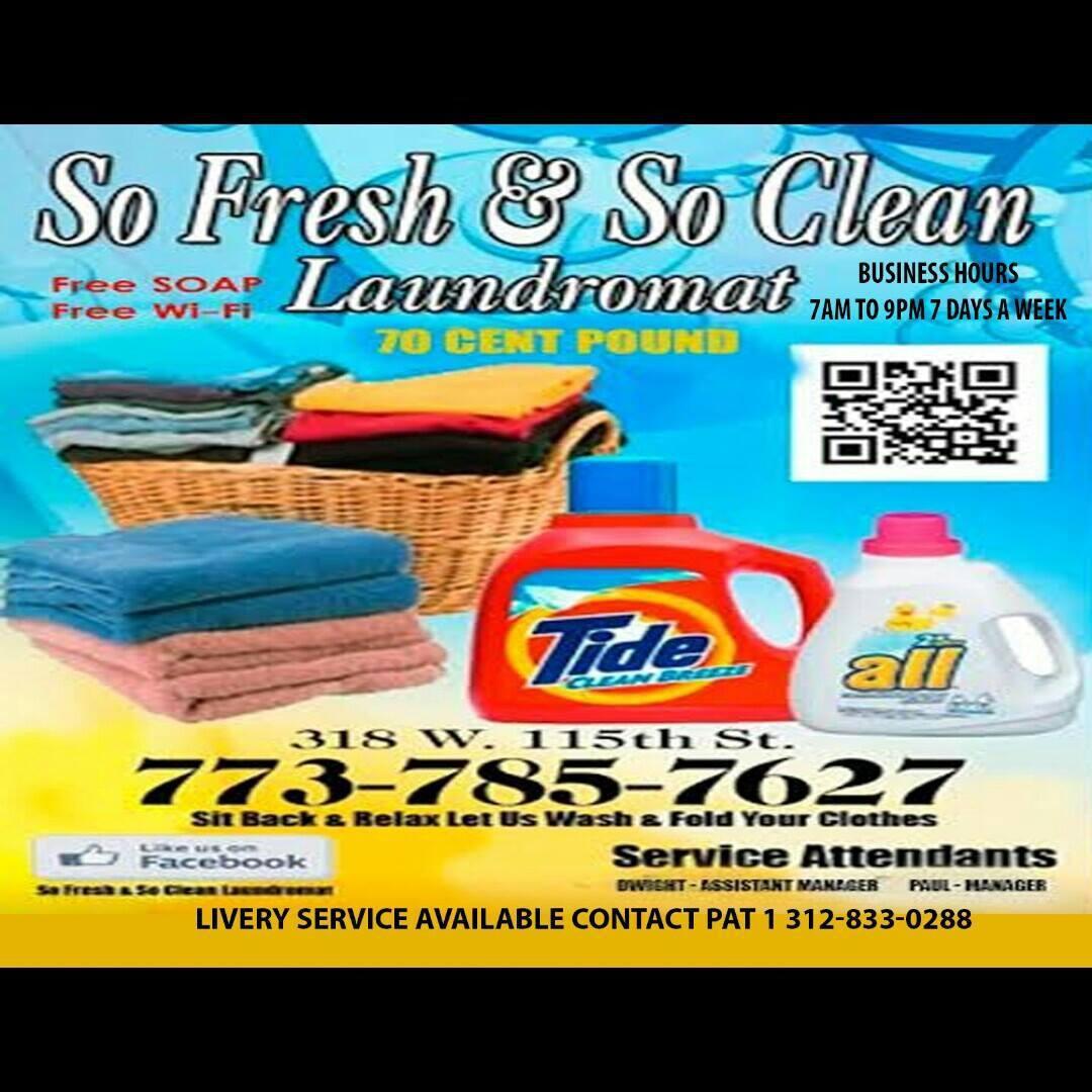 So Fresh & So Clean Laundry