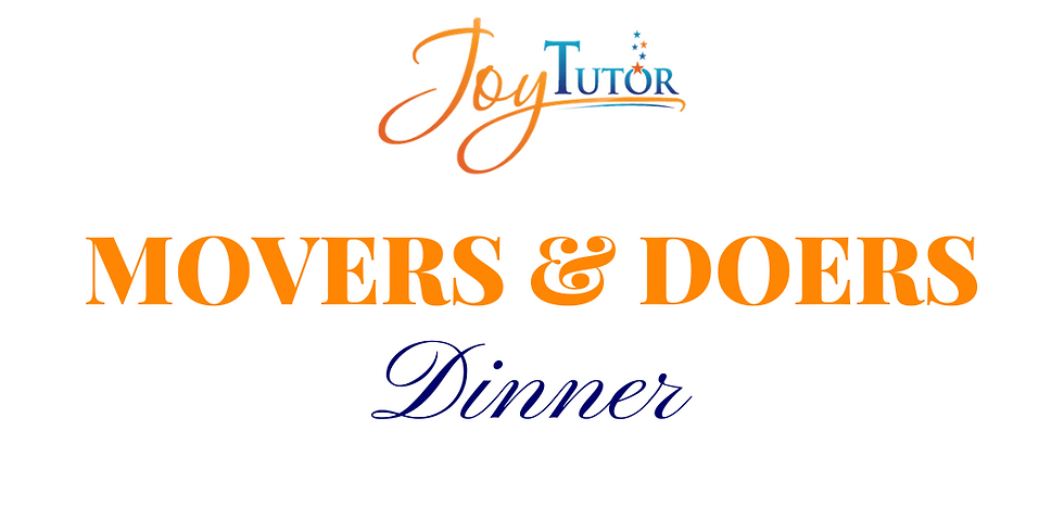 Movers & Doers Dinner