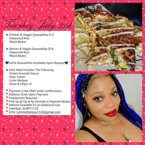 Pink Print Catering
