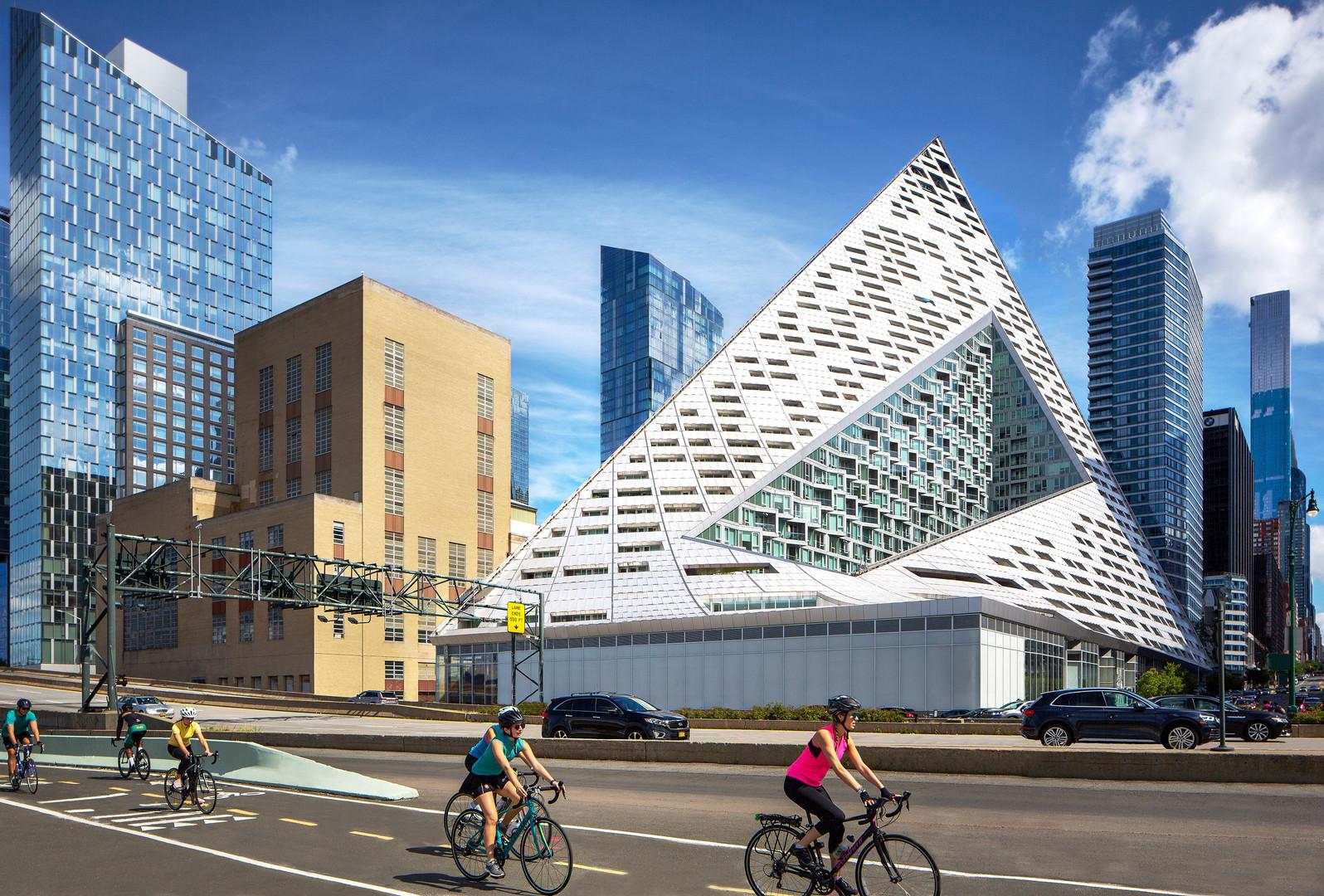 Via 57 West in Manhattan, NYC Architecture Photo