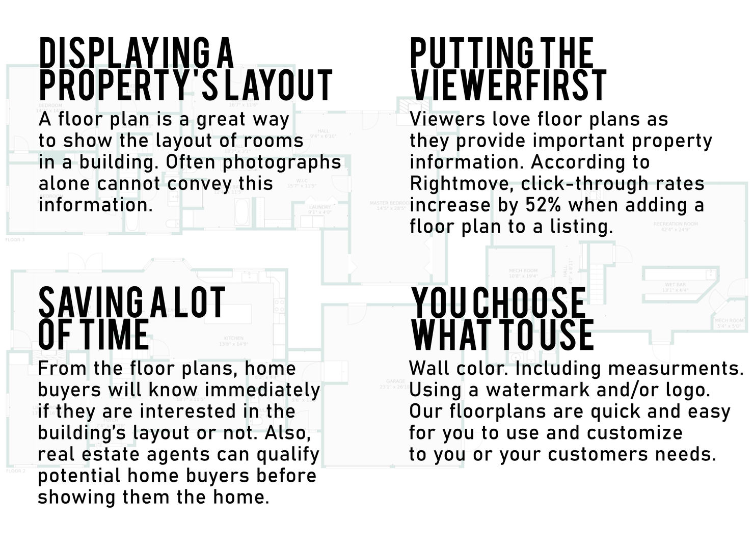 Ten South Media Floor Plan Fact Sheet