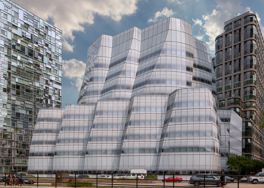 The IAC Building in Manhattan, NYC - Architecure Photography