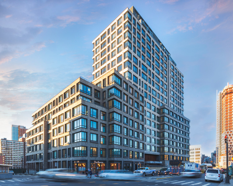 Architecture Photograph of 550 Vanderbilt in Brooklyn, NYC