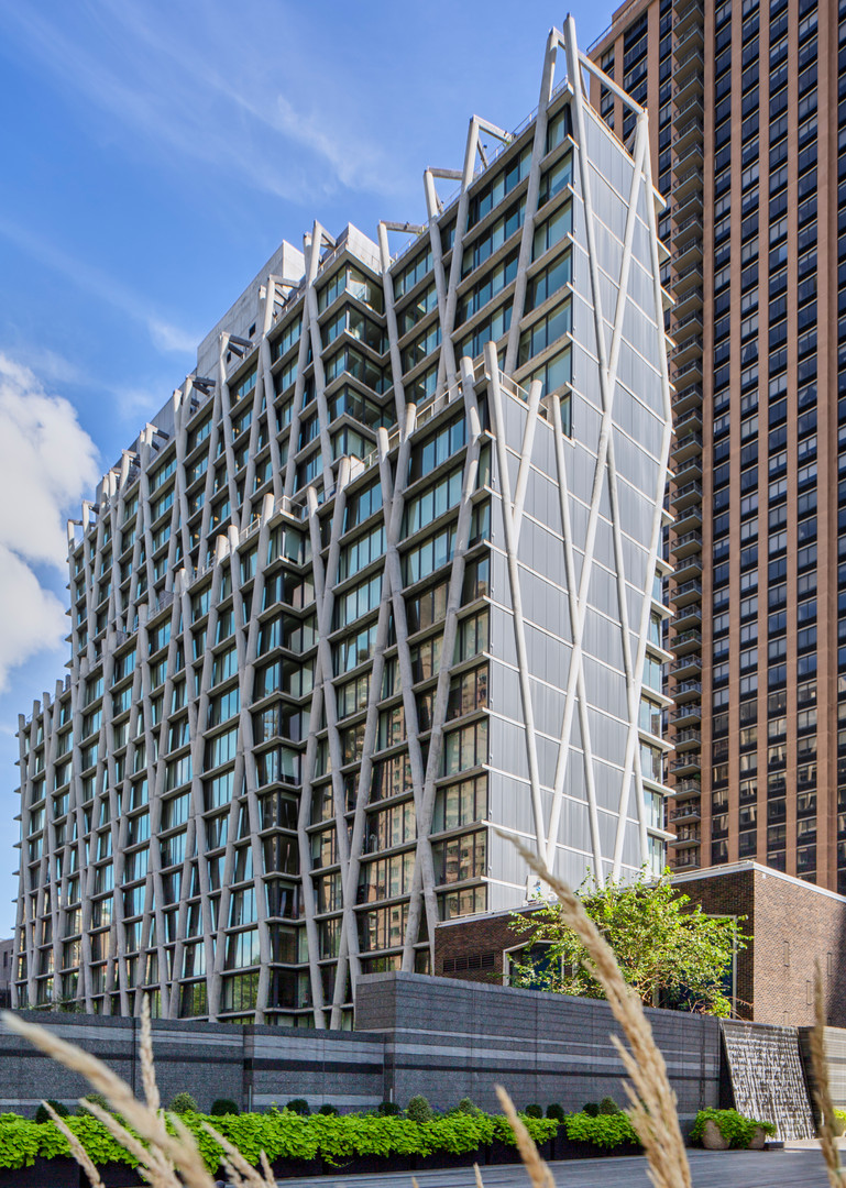 architecture photo of 170 Amsterdam Apartments in Manhattan NYC