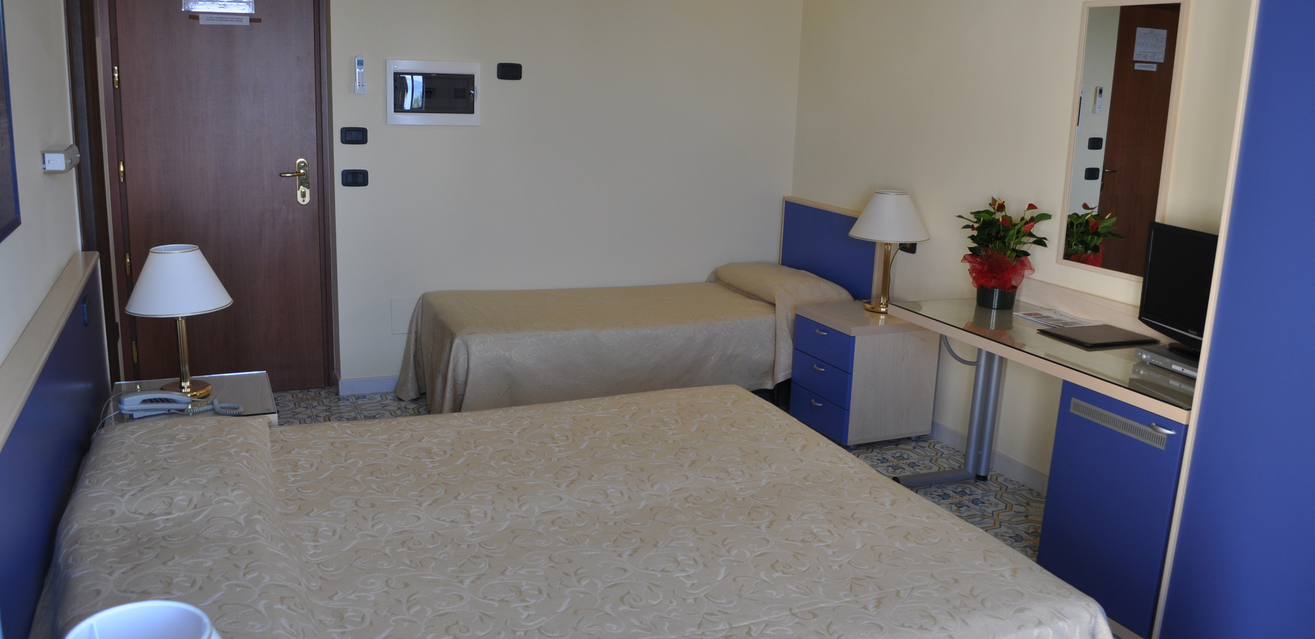 Vista della camera