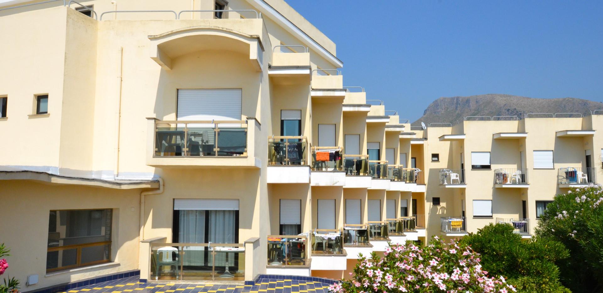 Balconi al primo piano