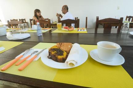 Detalhe café da manhã