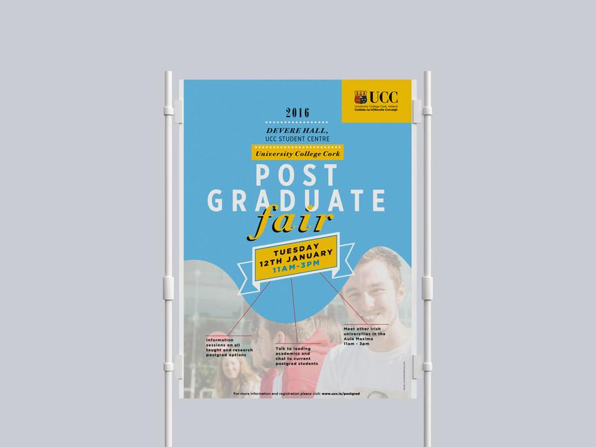 Kunnert and Tierney: UCC Postgraduate Fair Campaign Design