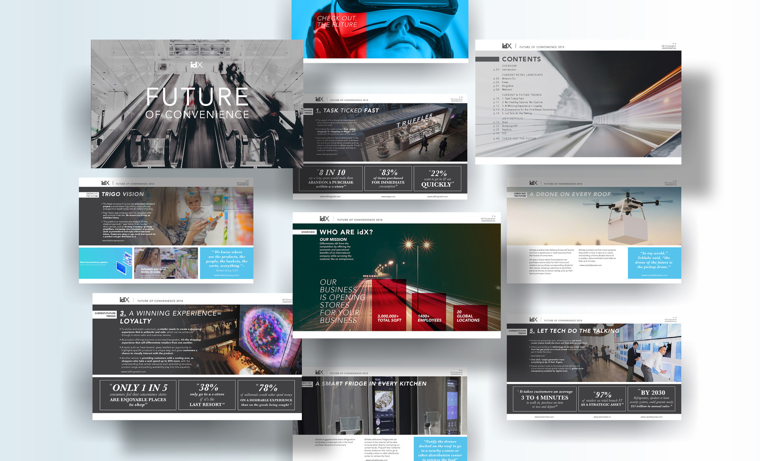idX Corporation Presentation Design