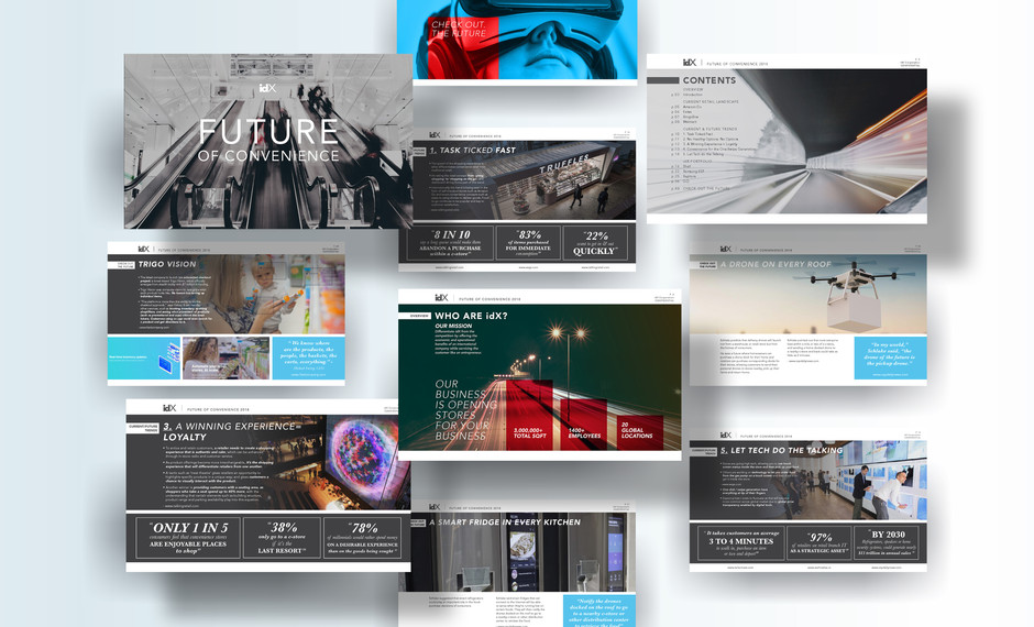 idX Corporation Presentation Design